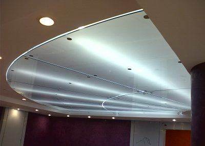 DUBAI COMMUNITY THEATRE & ARTS CENTRE @ MALL OF THE EMIRATES – ACRYLIC CEILING @ BAR SEATING AREA