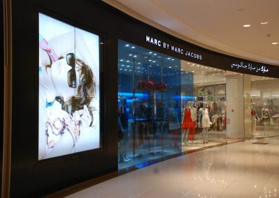 COMPLETE METAL & GLASS WORKS FOR MARC BY MARC JACOBS @ THE DUBAI MALL