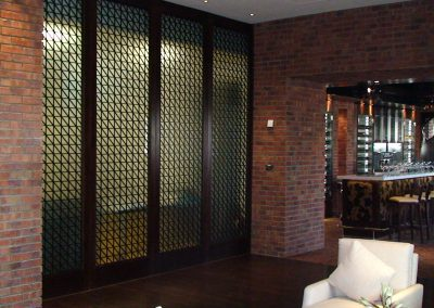 RAFFLES HOTEL, DUBAI - FIRE & ICE RESTAURANT DECORATIVE SCREENS