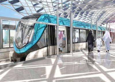 RIYADH METRO – SPECIALIZED METAL INTERIORS