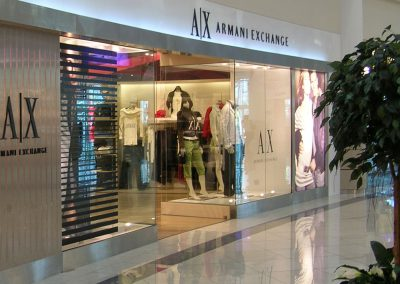 SHOP FRONT FOR ARMANI EXCHANGE @ AL WAHDA MALL ABU DHABI